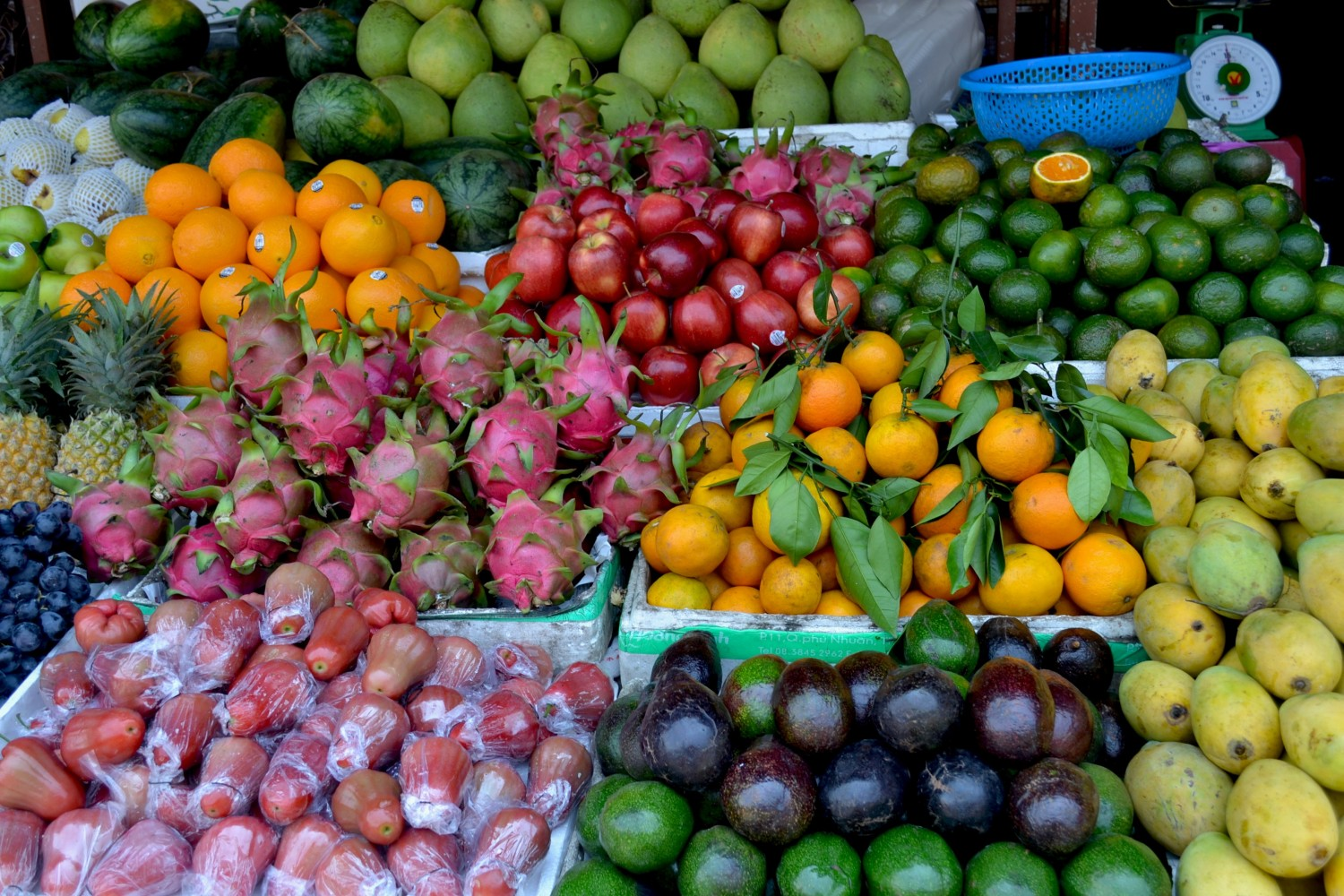 Colourful Fruits in Vietnam
