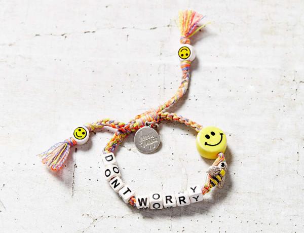 Don't Worry Bee Happy bracelet