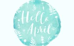 Hello April Calgary blog