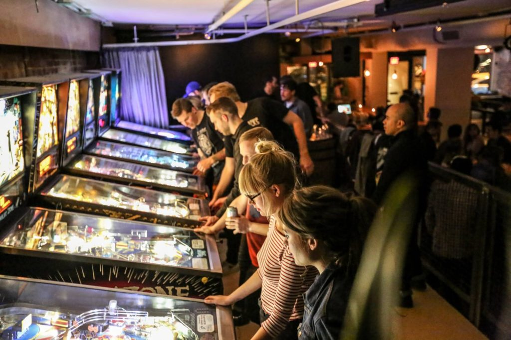 The American hipster bar vancouver best pinball