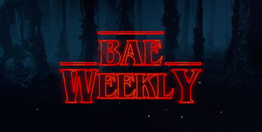 Bae weekly stranger things title card neon the keay blog