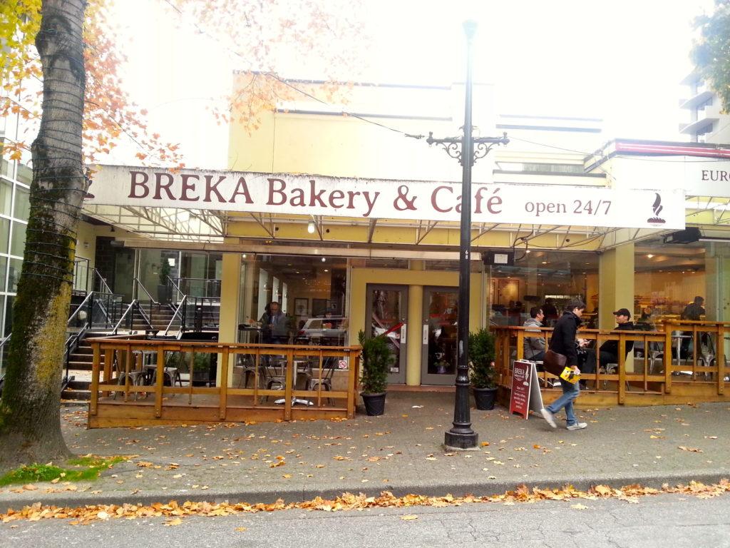 Breka bakery best vancouver cafe