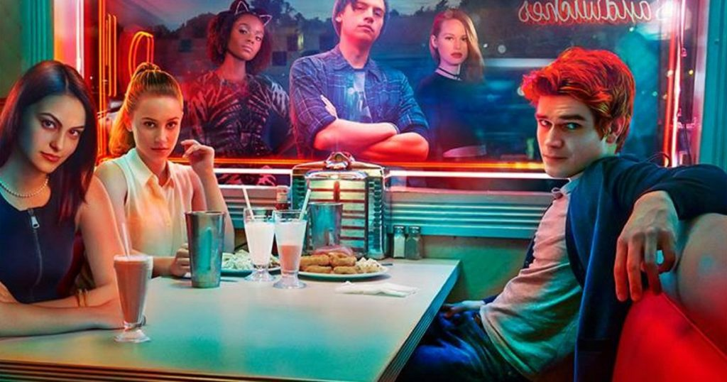 Riverdale promo poster CW TV show Netflix