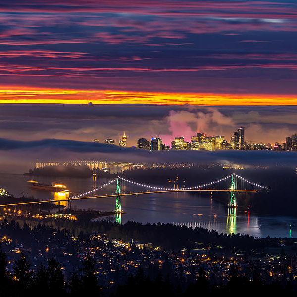 Vancouver BC Lions Gate Bridge The Keay blog
