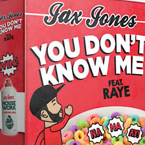you don't know me jax jones raye cereal music video oh na na ay