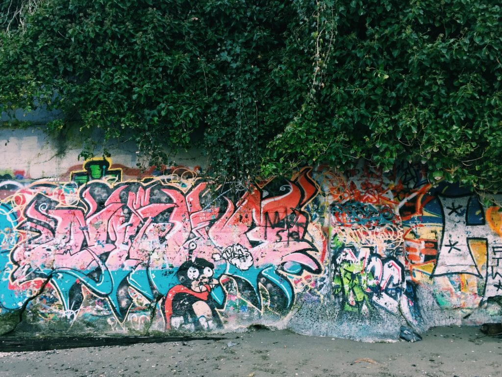 The Keay blog vancouver kitsilano kits beach graffiti