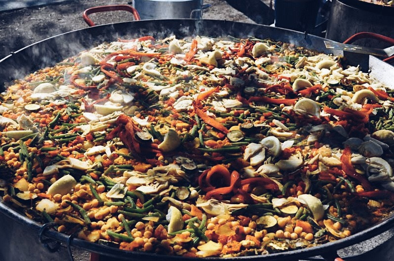 The Keay California blog Gerard's Paella Coachella Recipe Nebesky