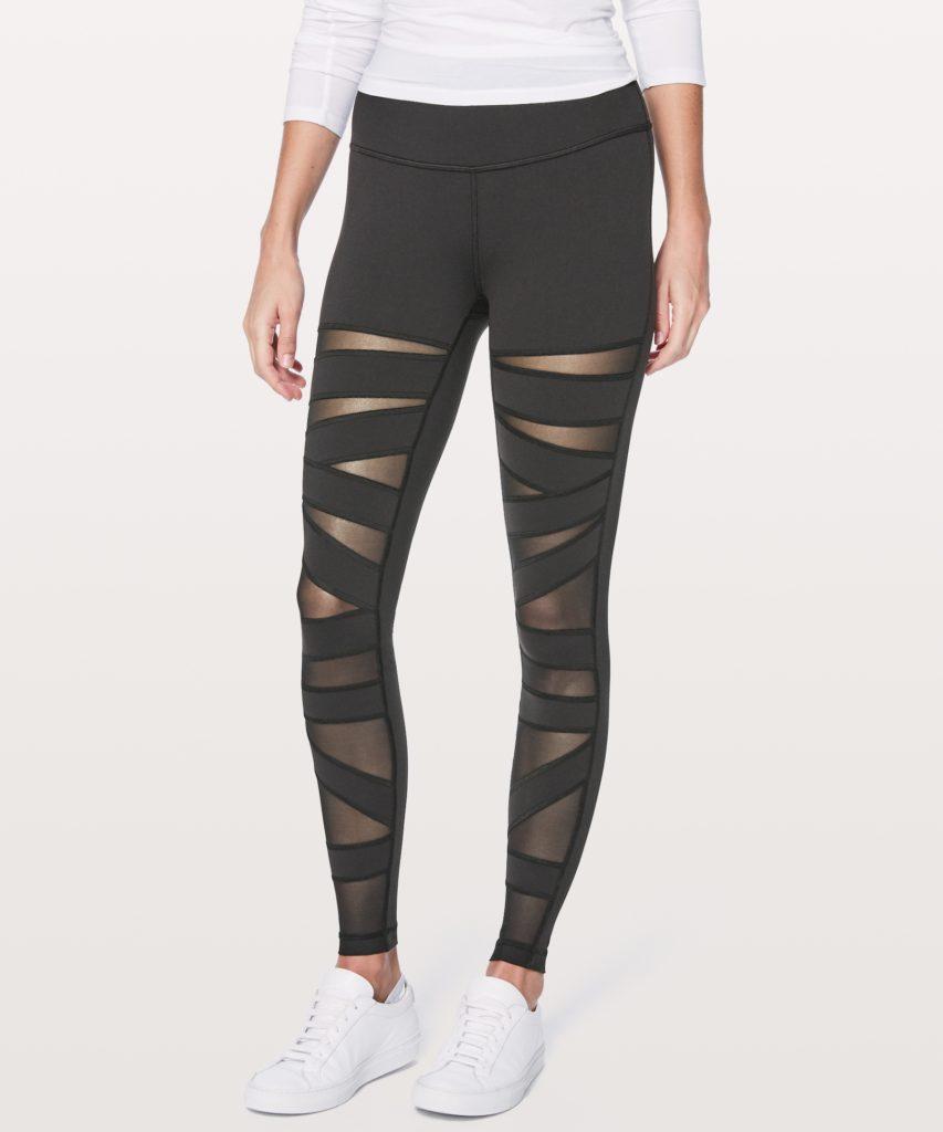 The Keay California blog lululemon wunder under tech mesh criss cross leggings