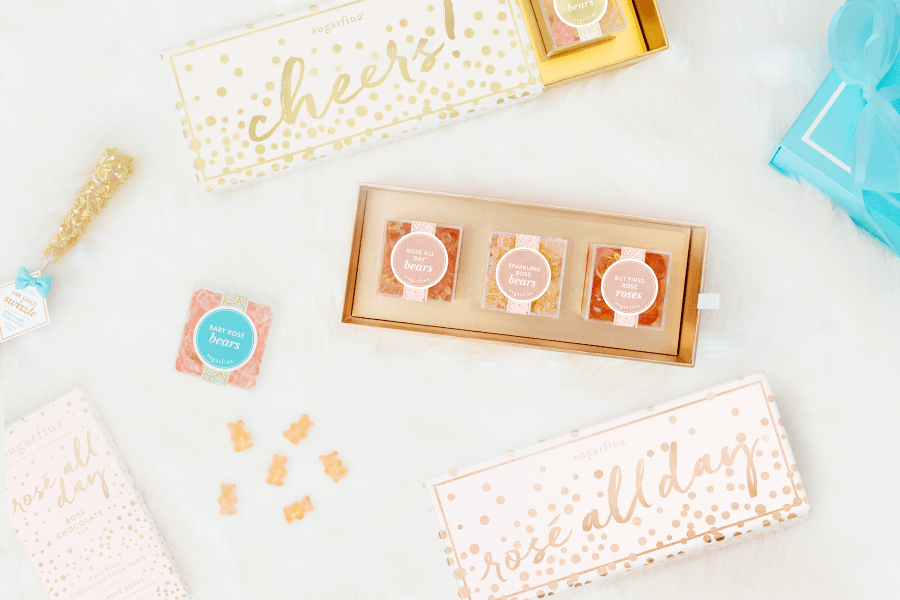 The Keay California blog Sugarfina small candy cube gummies holiday gift guide