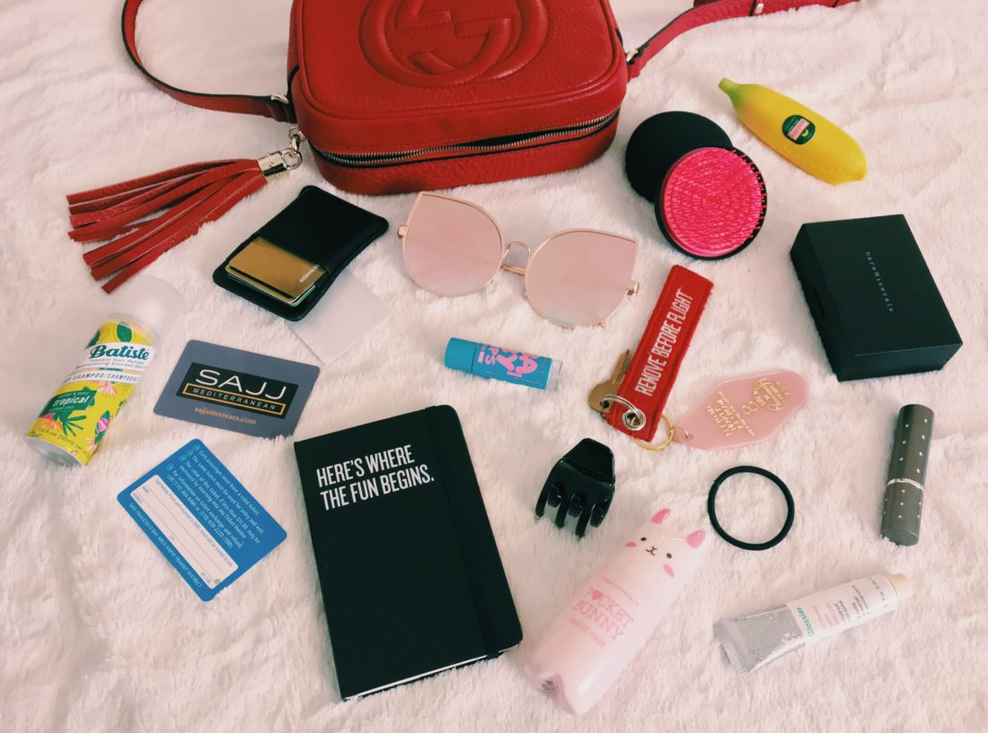 The Keay San Francisco Bay Area California blog in my bag star wars moleskine remove from flight museum of ice cream keytag gucci soho disco purse glossier